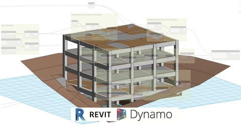 BIM Modeling Structure LOD 300-350 Revit 2018 and Dynamo