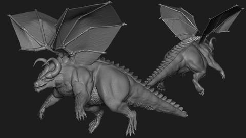 Netcurso - //netcurso.net/esculpiendo-un-dragon-en-zbrush