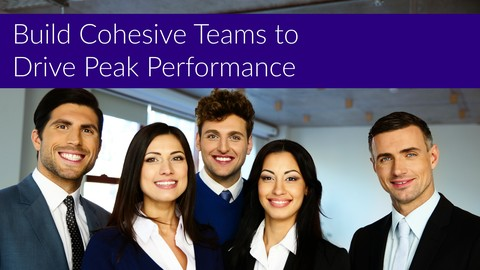 [Udemy Coupon] Build Cohesive Teams to Drive Peak Performance