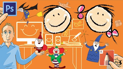 [Udemy Coupon] Step by step cartoon drawings for kids