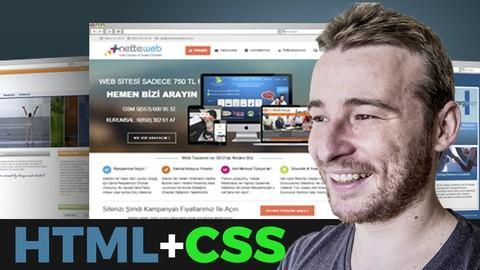 Web Design Completo em HTML/CSS + Criação do seu Portfolio