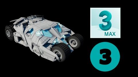Netcurso-guia-completa-de-modelado-en-3d-vol3-el-carro-de-batman