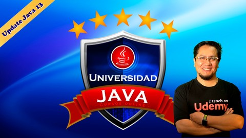 Universidad Java: De Cero a Master +82 hrs (JDK 13 update)!