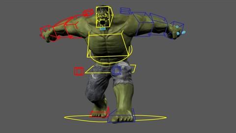 Netcurso - //netcurso.net/rigging-para-personajes-en-autodesk-maya