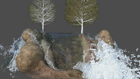 Netcurso - //netcurso.net/creando-una-cascada-en-maya-con-bifrost