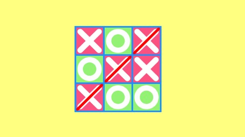 2D Game Development With HTML5 Canvas, JS - Tic Tac Toe Game