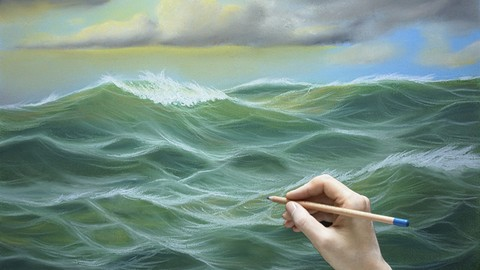 Netcurso - //netcurso.net/dibuja-un-paisaje-marino-al-pastel-dibujo-y-pintura-arte