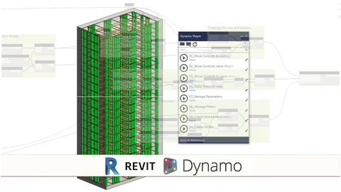BIM Revit 2018 Rebar Modeling with Dynamo