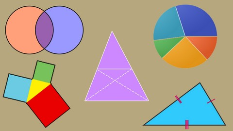 [Udemy Coupon] Triangles,Circles and Areas related to circles|Math|Geometry