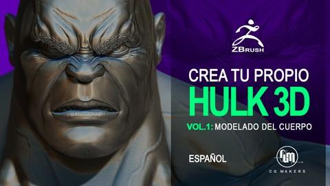 [Udemy Coupon] Crea tu propio Hulk Vol.1: Modelado del Cuerpo