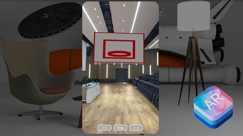 [Udemy Coupon] ARKit BasketBall: Create Your First AR App Using ARKit
