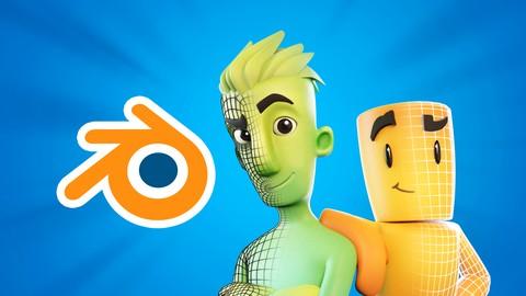 Crie seu personagem 3D completo no Blender!
