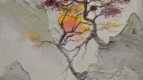 The Joy Of Acrylic Painting: Morning Sunrise – [Udemy Discount Global]