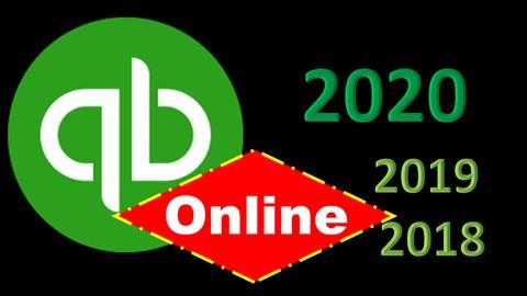 QuickBooks Online 2020, 2019 & 2018 Start to Finish