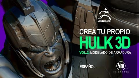 Netcurso - //netcurso.net/crea-tu-propio-hulk-vol2-modelado-de-la-armadura