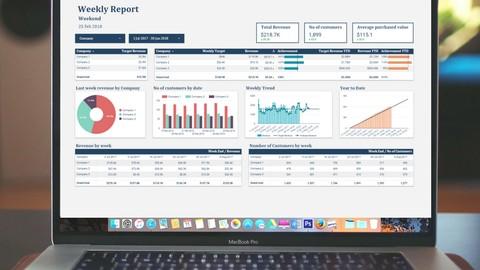 Building Financial Dashboard in Google Data Studio