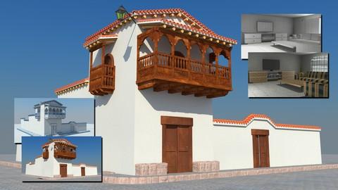 Netcurso - //netcurso.net/pack-4-en-1-modelado-y-texturizado-exteriores-e-interiores