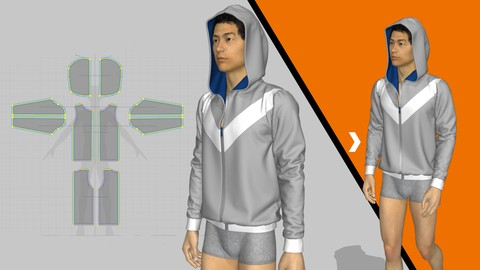 Fashion Design: Stitches and Zippers in Marvelous Designer