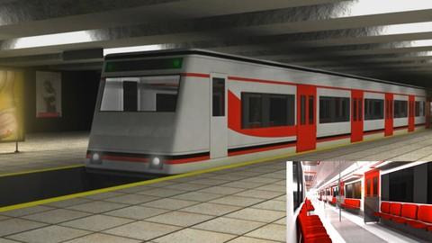 Netcurso-creando-escenarios-en-autodesk-maya-la-estacion-de-tren