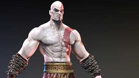Netcurso - //netcurso.net/creacion-de-kratos-con-zbrush-vol2-indumentaria-de-kratos