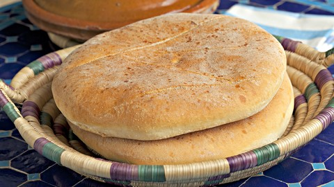[Udemy Coupon] how to make moroccan bread