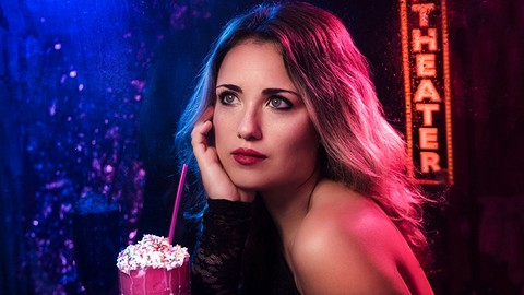 Creative Portrait Photography Series: Magic Of Color & Gels