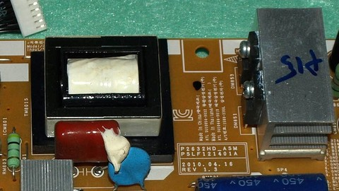 Netcurso - //netcurso.net/aprende-a-reparar-tv-lcd-la-fuente-tipo-forward-doble
