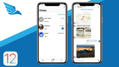 [Udemy Coupon] iOS 12 Chat Application like WhatsApp and Viber