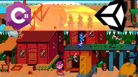 Netcurso - //netcurso.net/como-crear-videojuegos-2d-en-unity-sunset-riders