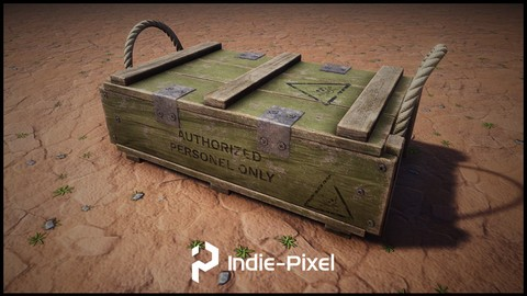 Procedural Prop Modeling – Ammo Crate