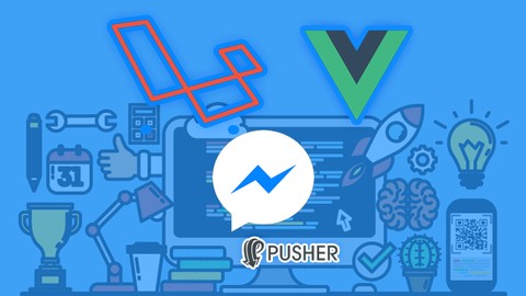 Netcurso-realtime-messenger-usando-laravel-vue-bootstrap-pusher