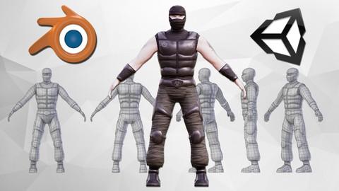 Sale : Udemy: Raliser votre personnage avec Blender & Unity de A Z