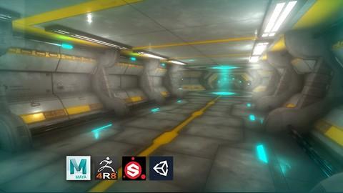 Netcurso - //netcurso.net/escenario-sci-fi-modular-para-game-o-realidad-virtual