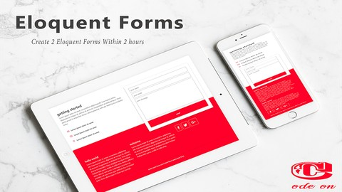 Create 2 eloquent forms within 2 hours