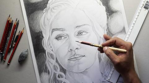 Netcurso - //netcurso.net/curso-de-dibujo-como-dibujar-un-retrato-de-principio-a-fin