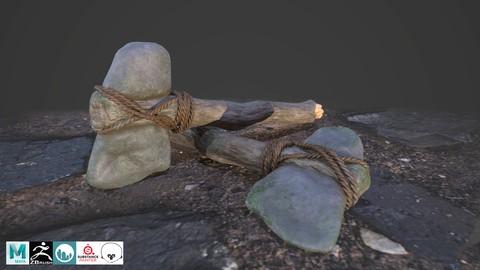 Netcurso-armas-prehistoricas-para-video-juegos-vol-1