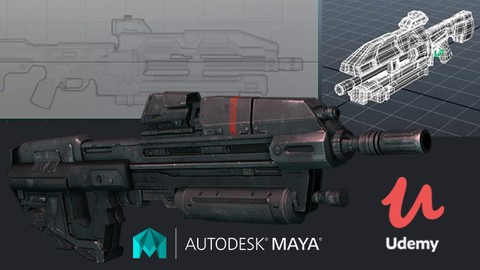 [100% Off Udemy Coupon] MAYA MASTER CLASSES : Asset Modeling for Game & Animation