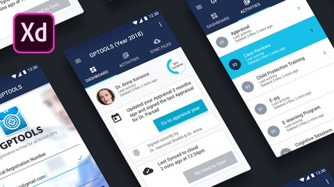 Pro level Android App Design with Adobe XD & Material Design