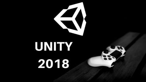 Aprenda Unity 2018 e faça seu primeiro jogo.
