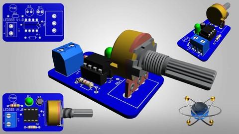 PCB Design with Proteus