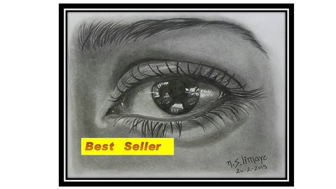 [Udemy Coupon] Draw Realistic Eye, Nose, Ear, Lip In Pencil Shading Medium