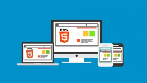 Free udemy course Build a Responsive Website with a Modern Flat Design