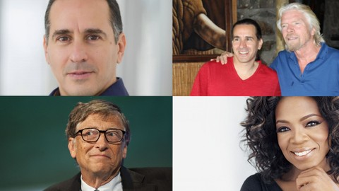 Life & business lessons from 3 billionaires