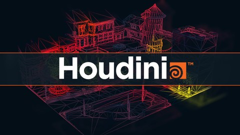 Houdini Tech Art  - Vertex Density Heatmap