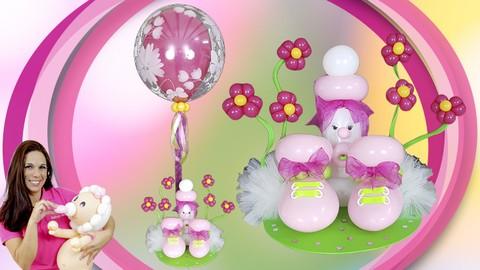 Netcurso - //netcurso.net/curso-de-decoracion-con-globos-centro-de-mesa-infantil