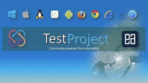 Free Automation Testing Tutorial - Automating Web/Mobile/API applications with TestProject