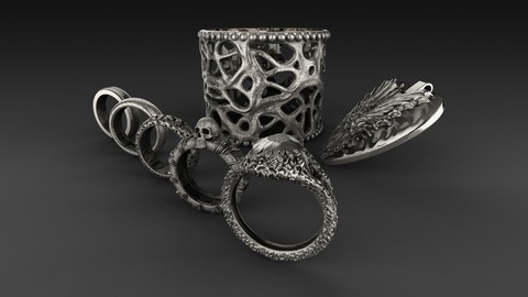 Jewelery Design in ZBrush 2018 - Complete Jewelery Course