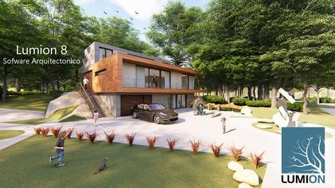 Netcurso - //netcurso.net/lumion-8-de-principiante-a-experto-arquitectura