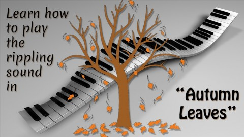 Play Autumn Leaves' falling notes on piano with no reading! - Resonance School of Music