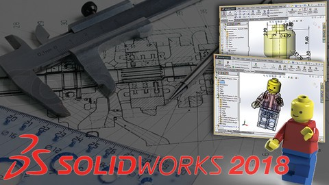 Master Solidworks 2018 - 3D CAD using real-world examples